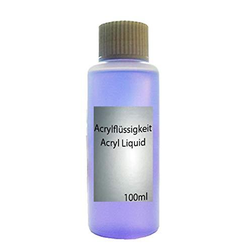 Soluzione acrilica per unghie, in flacone da 100 ml [etichetta in lingua italiana non garantita]