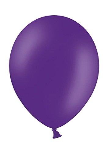 Belbal 50 Luftballons royal lila Premiumqualität Ø ca. 27cm B85 (Standardgröße) (Royal Blau Hochzeit Ballons)