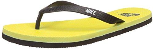 Nike Men's Aquaswift Thong Volt,Black,White  Flip Flops Thong Sandals -6 UK/India (40 EU)(7 US)  available at amazon for Rs.500