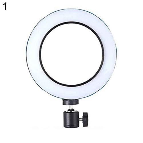 Sguan-wu Palo Selfie Anillo Redondo Universal LED