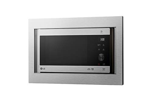 LG MH6565CPSK - Microondas grill con tecnología Smart Inverter, kit de encastre,...