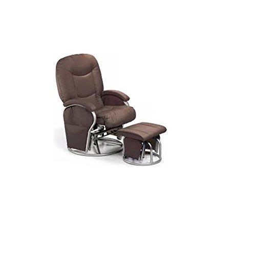 Hauck 687079 Stillstuhl Metal Glider Recline Brown - Braun