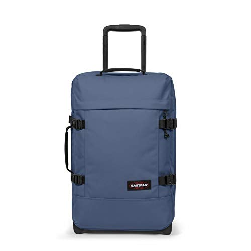 EASTPAK TRANVERZ S - TROLLEY PICCOLO CABINA (OK X LOW COST - RYAN AIR) - BIKE BLUE