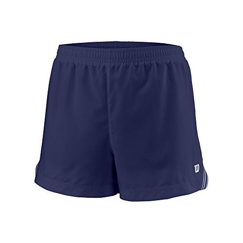 Wilson Mädchen Tennis-Shorts, G Team 3.5'' Short, Polyester, Blau, Größe: XS, WRA766803