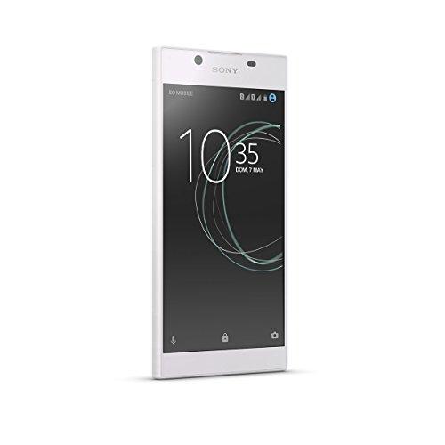 "Sony Xperia L1 - Smartphone DE 5.5"" (Quad Core 1.45 GHz, RAM de 2 GB, Memoria Interna DE 16 GB, Cámara DE 13 MP, Android) Blanco"