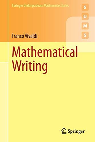 Zoom IMG-1 mathematical writing