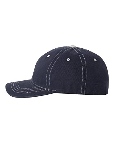 Flex fit Herren Strickmütze, 6386lnvy, mehrfarbig, 6386LNVY (Twill Cotton Flex-fit Cap)