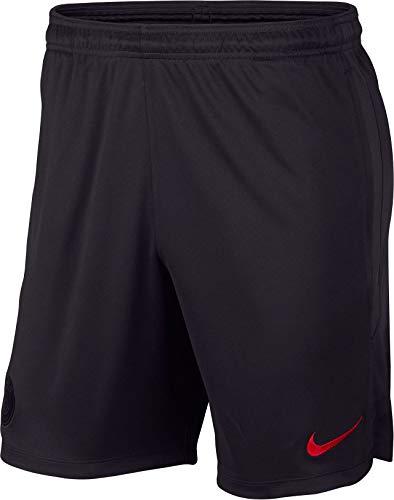 Nike Herren PSG M Nk Dry Strk Short Kz kurz, Mehrfarbig (Oil Grey/Obsidian/University red), M