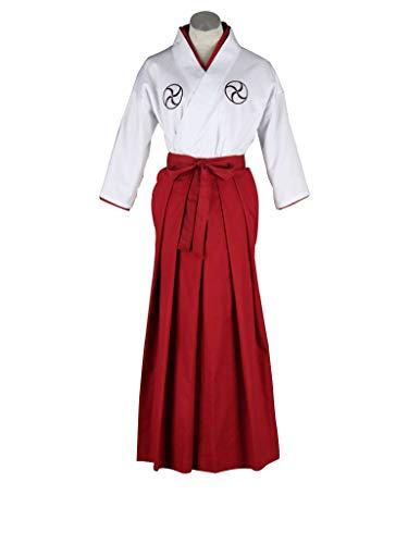 Cosplay Rukia Kostüm - Mtxc Surf Lady Uniformen der Mann mit Text der Tod von Licht Cosplay Bleach, Weiß