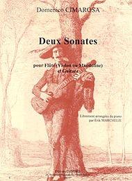 2 Sonates pour Flûte ou Von ou Mandoline et Guitare