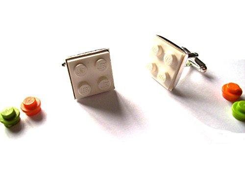Gemas Inglés Lego® Gemelos blanco bloques construcción