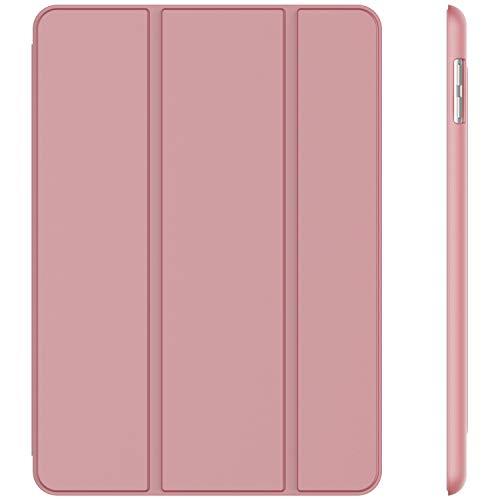 JETech Hülle für iPad (9,7 Zoll, Modell 2018 / 2017, 6. / 5. Generation), Intelligent Schutzhülle mit Auto Schlafen / Wachen, Rosa
