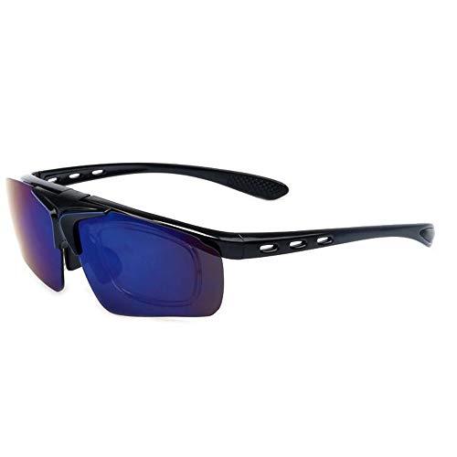 Outdoor Reitbrille Bunte Flip Sonnenbrille Sport Parkour Männer und Frauen Accessoires (Color : 1)