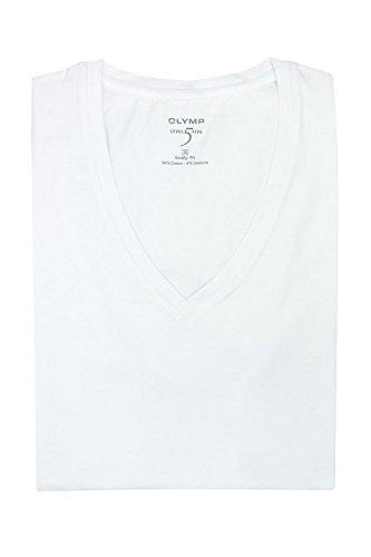 """Herren T-Shirt """"Level 5 Body Fit"""" Weiß"""