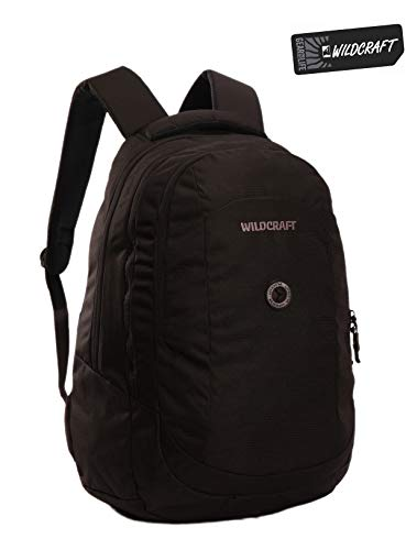 Best wildcraft backpack in India 2020 WILDCRAFT. Polyester 35 L Black Laptop Backpack Image 2