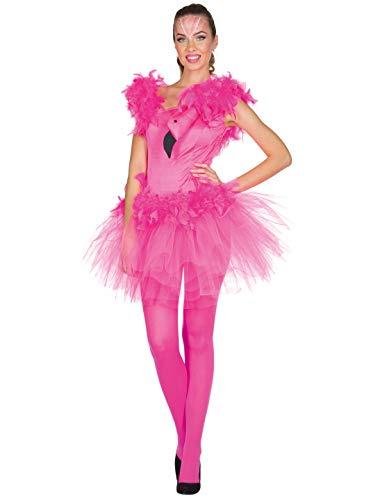 Kleid Flamingo Damen kurz