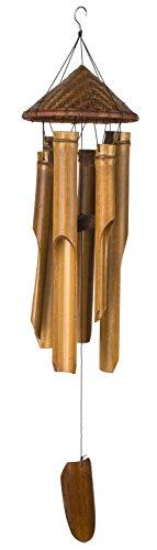 Woodstock Chimes tissé Chapeau en bambou Carillon