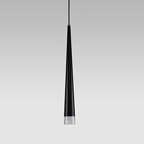Moderner Minimalismus LED-Kronleuchter Taper Aluminium Acryl Kreisförmiges Design Wohnzimmer Restaurant Küche 3W [Energieklasse A ++]
