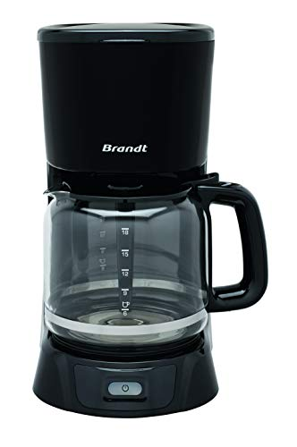 Brandt - Cafetière Filtre 18 tasses Noir