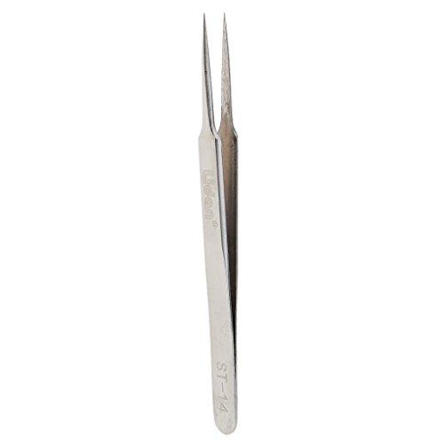 Baosity Pince à Epiler de Précision Pincette Applicateur de Cils Extension / Faux Cils / Nail Art Strass pick-up - Antistatique - Droite