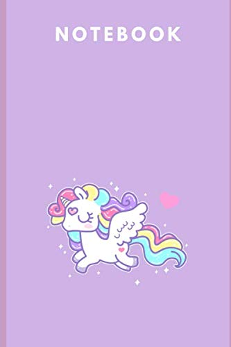 Notebook: Unicorn Notebook 6x9 in., Journal For Girls, Perfect for school, Writing Poetry,  Diary Journal, Gratitude Writing, Dream Journal