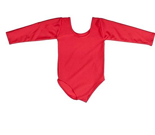 Kostüm Lycra Gymnastikanzug - Neu Schule/Gymnastikanzug Tanz Mädchen Lycra Sport Pack of 2 2-3 - 21-22 jahre - Rot, 13 - 14 Years
