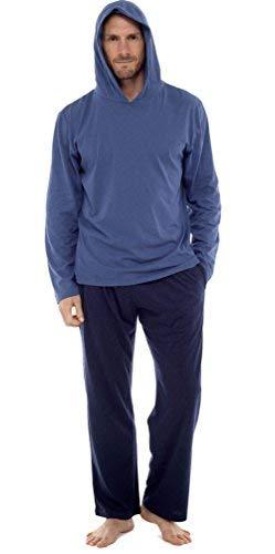 Hommes Set Pyjama Haut À Manches Longues Et Pantalon Pyjama Coto