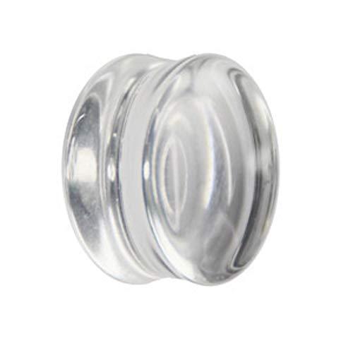 Treuheld Glas Plug - Klar 8 mm
