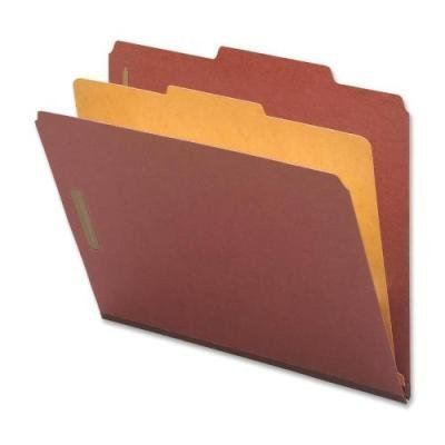 Nature Saver 01050 Classification Folders, Letter, 1 Partition, 10/BX, Red by Nature Saver (English Manual)