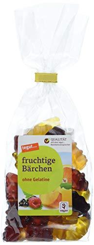 tegut... Vegane fruchtige Bärchen, 12er Pack (12 x 175 g)