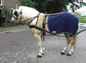 Busse Fahrdecke FLEECEDRIVER, Pony, Navy (Creme)