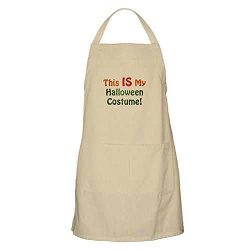CafePress – This is My Halloween-Kostüm. Grillschürze - Küchenschürze mit Taschen, Grillschürze, Backschürze Khaki
