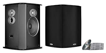 speakers in amazon. polk audio fxi a6 surround speakers (black) price: buy online in india -amazon.in amazon d