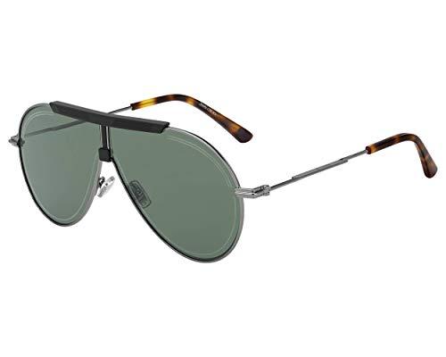 Jimmy Choo Sonnenbrillen (EDDY-S EKPQT) ruthenium dunkel - schwarz matt - grau-grün