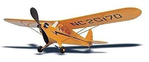 Piper CUB - avec Moteur caoutchouc, Kit de montage, 89cm Envergure