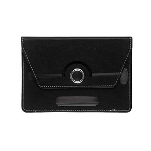 Timlatte Tablette-Kasten 360 Grad drehbaren Ultra dünne weiche PU-Leder-Standplatz-Fall-Schlag-Abdeckung Ersatz für iPad (10 Leder-tabletten-kasten)
