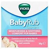Vicks Babyrub, 50 Gr