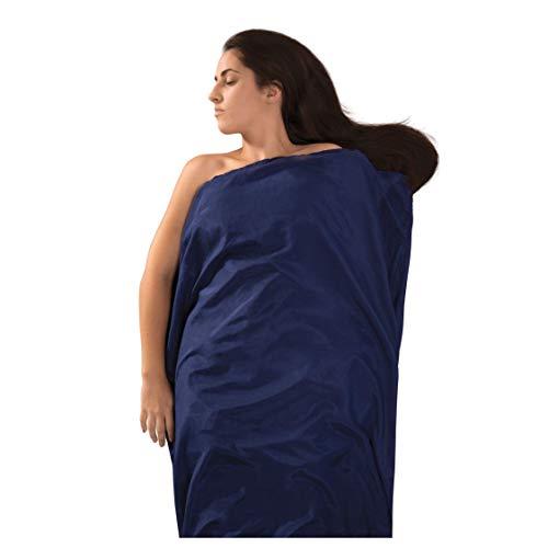 Sea to Summit Premium Blend Seide/Baumwolle Standard Travel rutschsicher, Marineblau Cotton Blend Liner