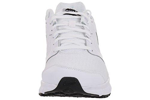 Nike Downshifter 6, Chaussures de Course Homme Blanc et noir