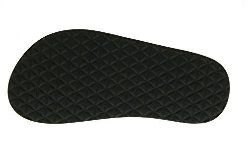 Teva Mush II Y's Unisex-Kinder Sport- & Outdoor Sandalen, Schwarz (Wood Stripes Black M 960), 33.5 -
