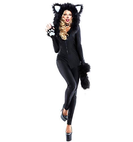 Cosplay Overall Winterurlaub Party Make-up Abend Katze Mädchen Spiel Kostüm ()