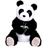 TY Beanie Baby - LI MEI the Panda Bear (Internet Exclusive) by Ty TOY (English Manual)