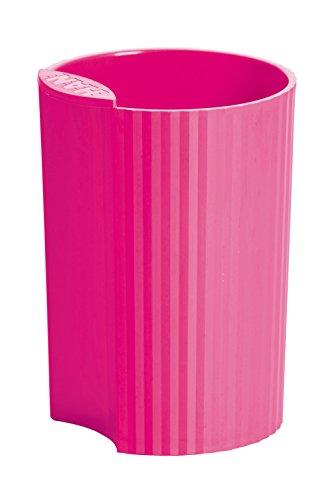 HAN 17220-56, Stifteköcher LOOP, Junges Innovatives Design, Schick, Modern und verkettbar, Trend Colour pink
