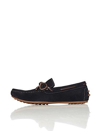 FIND Men's Arland Driver Loafer Shoes, Blue (Navy), 11 UK