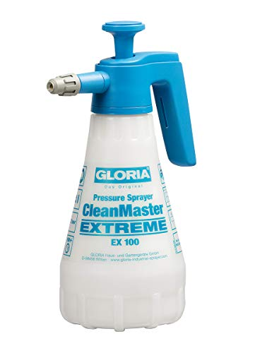 GLORIA Drucksprühgerät CleanMaster EXTREME 1,0L ideal für Brems-Felgenreiniger, pH 5 bis 10