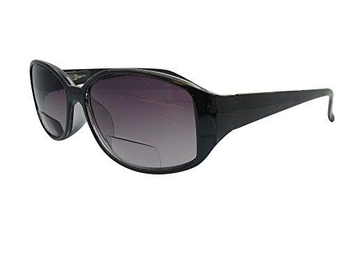 World of Glasses Damen Sonnenbrille Schwarz, Braun