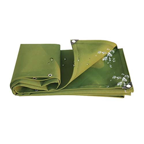 Ioouooi Zeltplanen- Wasserdichte Plane grün staubdicht Leinwand Carport Baldachin Dach regendicht Zelt Zelt kann angepasst Werden (Größe: 2MX3M / 6FT * 9FT) (größe : 2 * 4m) (Sonnenschirm Ft 9)