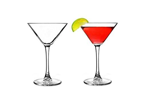 Pasabahce 44698 - Martini Glas, Cocktailglas, Partyglas, V-förmige Martini Gläser, 2er Set -