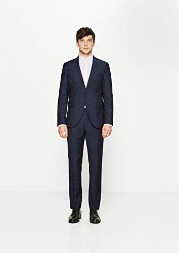 SELECTED HOMME Herren Bundfalten Anzughose One Mylo Ros4 Trouser Noos Id Blau (Navy Blazer)