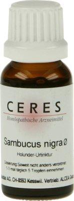 CERES Sambucus nigra Urtinktur 20 ml Tropfen